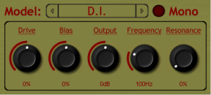 Amp Simulation based on an mda plugin