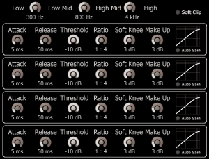 Lightweight Multiband Compressor