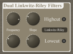 Dual Linkwitz Riley Filters