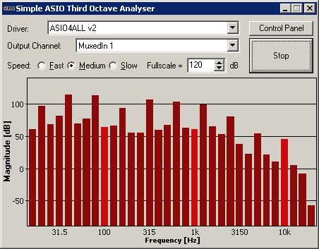 Third-Octave Analyser