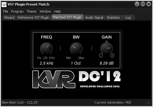 VST Plugin Preset Match Screenshot